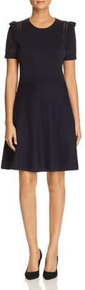 Kate Spade Ruffle-Trim Sweater Dress