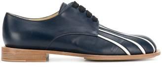 Marni Bande Détail Des Chaussures À Lacets - Bleu 2baci