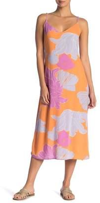 O'Neill Santa Rosa Back-Tie Midi Dress