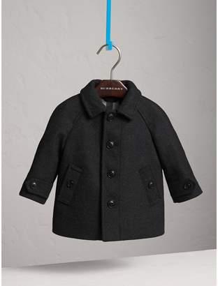 Burberry Wool Cashmere Blend Car Coat