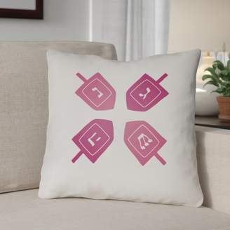 The Holiday Aisle Contemporary Square Indoor/Outdoor Throw Pillow