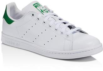 Adidas Men's Stan Smith Lace Up Low Top Sneakers $60 thestylecure.com