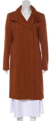 Akris Textured Long Coat
