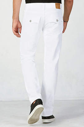 True Religion Geno Slim Mens White Jean