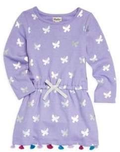 Hatley Little Girl's& Girl's Metallic Butterfly Dress