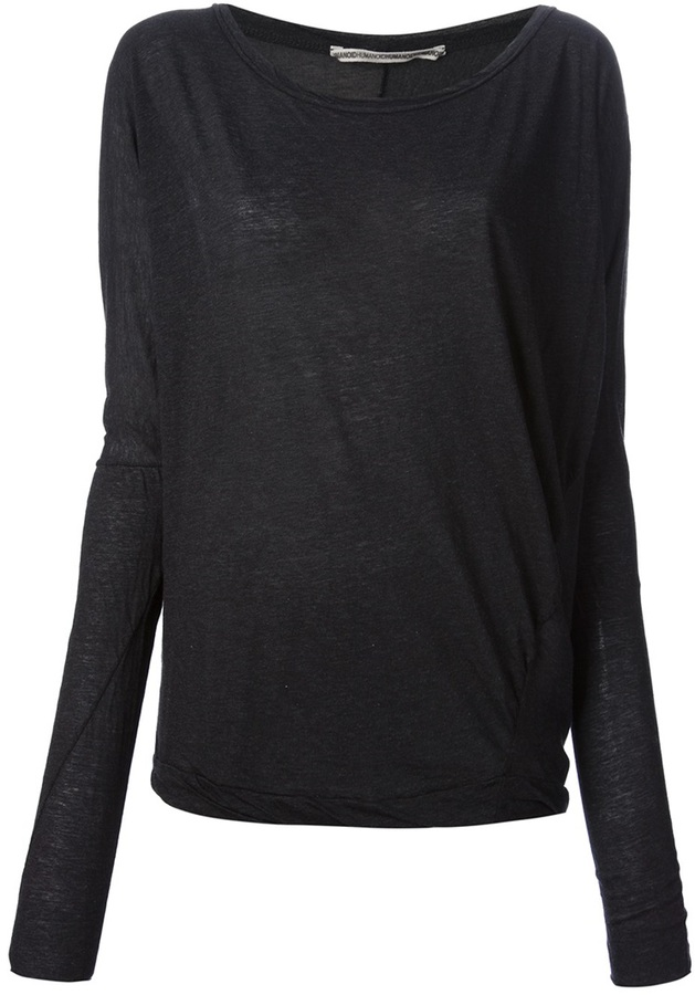 Humanoid loose fit sweater