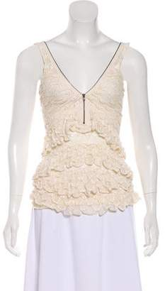 Isabel Marant Sleeveless Open Knit Top