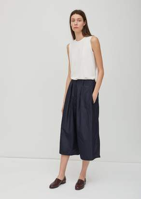 Dusan Dušan Washed Taffeta Loose Pants Midnight