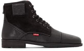 Levi's Fowler Leather Ankle Boots