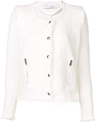 IRO bouclé-tweed jacket