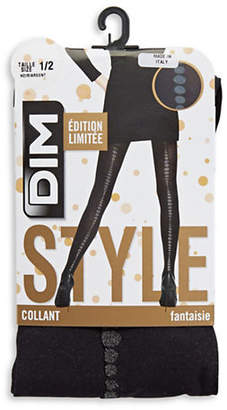 Dim Dot Print Tights