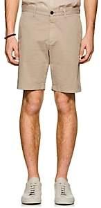 Theory Men's Evan Cotton Chino Shorts - Beige, Tan