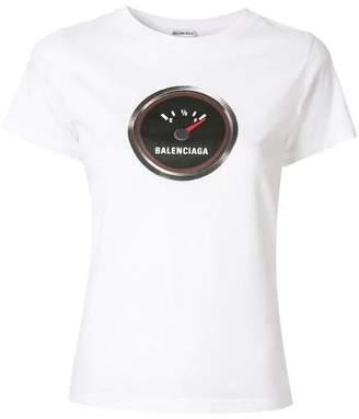 Balenciaga fuel tank print t-shirt