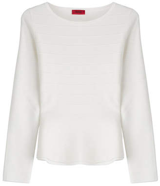 HUGO Structured Knit Top