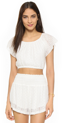 L*Space Summer of Love Crop Top $99 thestylecure.com