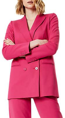 Karen Millen Tailoring Blazer, Hot Pink