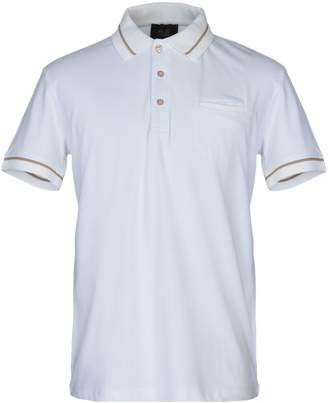 57b6ec340 Class Roberto Cavalli White Men's Polos - ShopStyle
