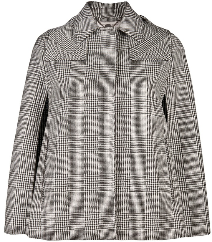 Stella Mccartney GLEN PLAID CAPE