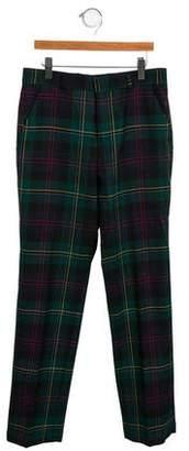 Brooks Brothers Boys' Wool Plaid Pants