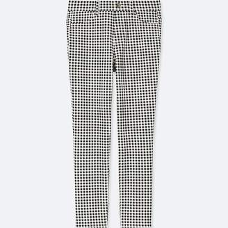 Uniqlo Women's Print Cropped Leggings Pants
