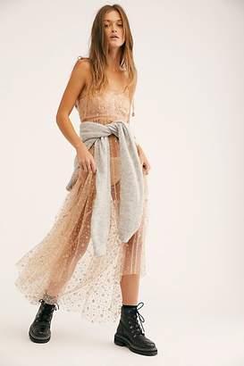 Fp One FP One Estella Glitter Maxi Slip Dress