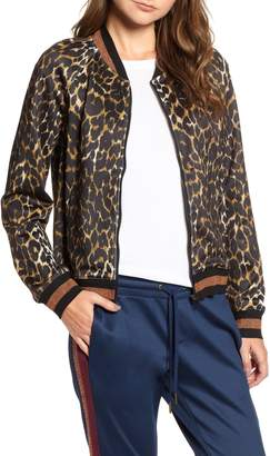Pam & Gela Leopard Track Jacket