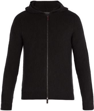 Iris von Arnim Lyonel zip-through hooded cashmere sweater