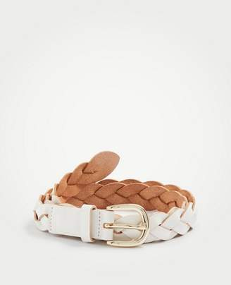 Ann Taylor Braided Leather Belt
