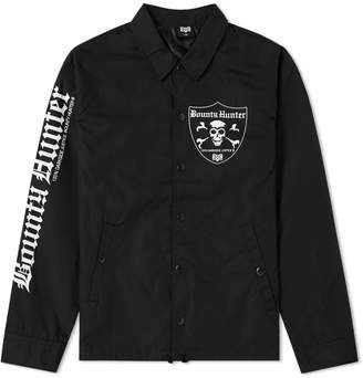 Bounty Hunter Emblem Skull Coach Jacket