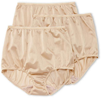 JCPenney Underscore Nylon 3 Pair Microfiber Brief Panty 0218711