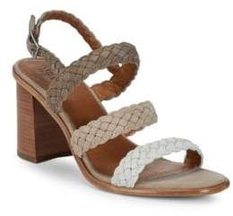 Frye Amy Braided Slingback Sandals
