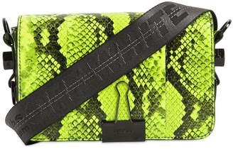 Off-White Mini Snake Print Leather Bag