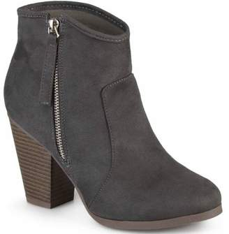Brinley Co. Womens Faux Suede High Heel Ankle Boots