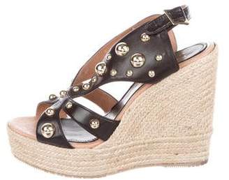 Paloma Barceló Palomitas by Studded Wedge Espadrilles