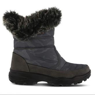 FLEXUS Flexus Womens Korine Waterproof Snow Boots Flat Heel Zip