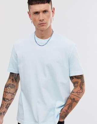 AllSaints oversized t-shirt in aqua blue