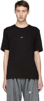 Helmut Lang Black London Taxi Print T-Shirt