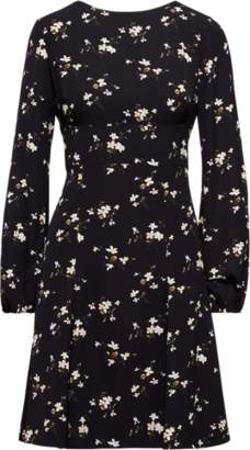 Ralph Lauren Print Fit-and-Flare Dress