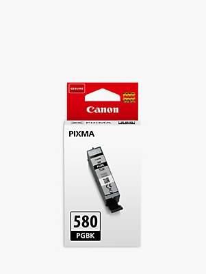 Canon PGI-580PGBK Black Ink Cartridge