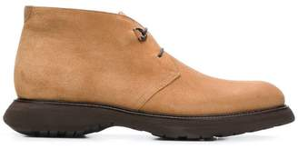 Salvatore Ferragamo ankle lace-up boots