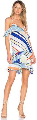 Parker Thatcher Dress in Blue $288 thestylecure.com