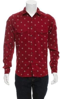 Amiri Western Paisley Shirt w/ Tags