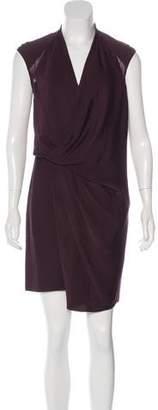 Helmut Lang Asymmetrical Sleeveless Dress