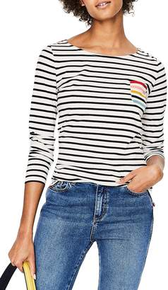 Boden Breton Stripe Colorblock Top