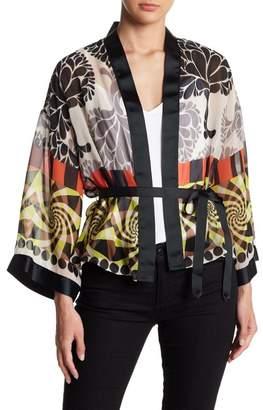 Petit Pois BY VIVIANA G Long Sleeve Kimono Top