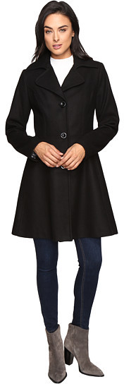 Betsey JohnsonBetsey Johnson Button Up Wool Coat