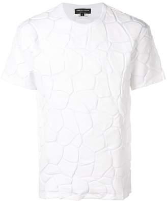 Comme des Garcons textured print T-shirt