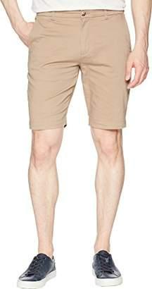 Ben Sherman Men's Stretch Sueded Sateen Short