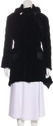 Fendi Quilted Velvet Jacket