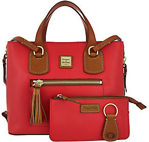 Dooney & Bourke Leather Shopper with Accessories $327 thestylecure.com